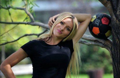 Тихана Немчич – первая женщина-тренер мужской футбольной команды (26 фото)