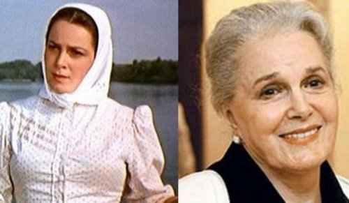 Легендарные советские актрисы тогда и сейчас (9 фото)