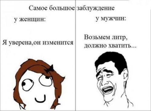 Свежая порция комиксов-приколов (13 шт)
