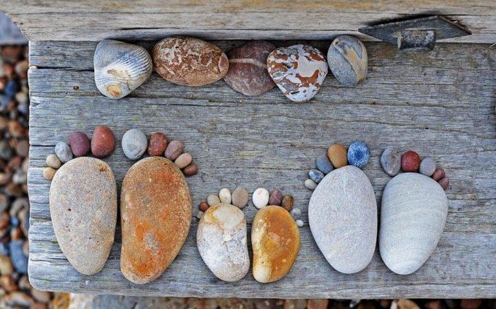 Фото из камушек своими руками фото