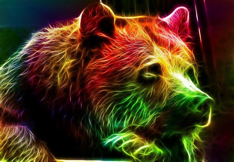 Светящие картинки животных