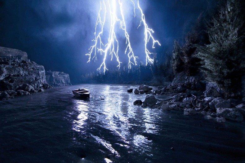 Не фотошоп: реалистичные пейзажи, созданные рукой художника - ФОТО: Это интересно, 31 июля 2013