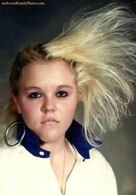 12 Самых нелепых причёсок для фотографий
