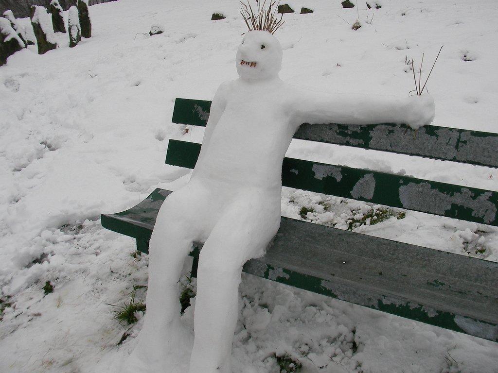 Картинки прикольные про снеговичек с губами
