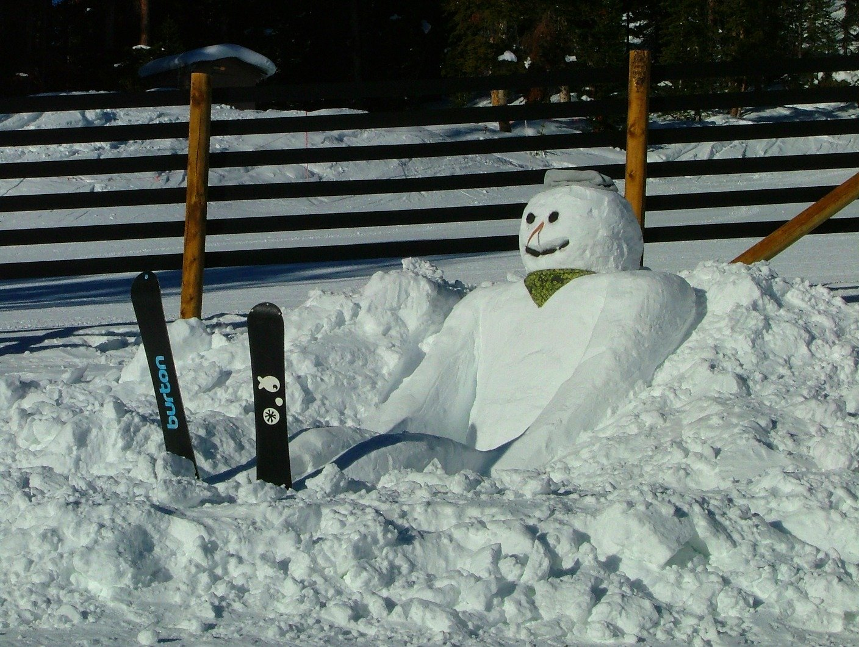 снеговик смешные фото известны эти
