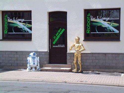 В немецком заведении «Robots Bar & Lounge» вас обслужит бармен-робот