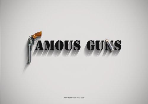 Знаменитое оружие – новый проект Федерико Мауро (28 фото)