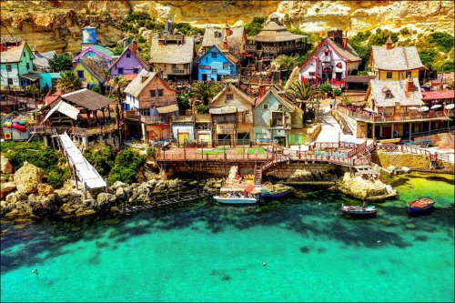 Самые впечатляющие деревни планеты (12 фото)