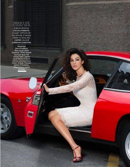 Моника Беллуччи в июльском номере журнала Madame Figaro (5 фото)