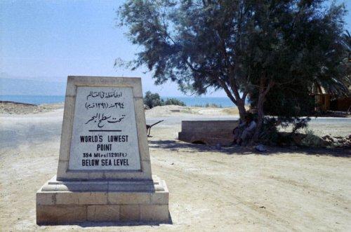 Интересные и удивительные факты о Мёртвом море (10 фото)