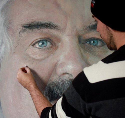 Гиперреалистичные портреты, написанные пастелью Рубеном Беллосо Адорна
