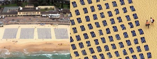 Жаркая реклама: пляжный креатив