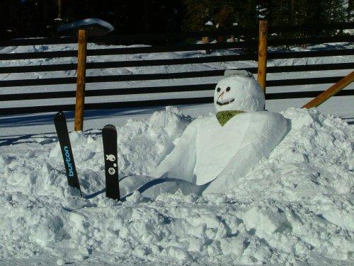 Необычные и прикольные снеговики (21 фото)