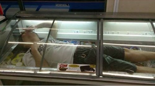 Новый фото-мем в Японии: заберись вовнутрь (11 фото)