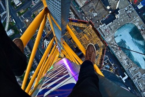 Экстремальная высота в фотографиях (35 фото)