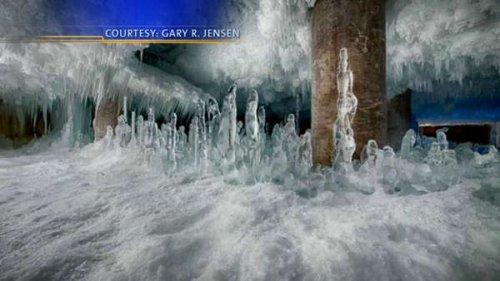 Размораживание здания-холодильника чикагского Фултонского рынка (7 фото + видео)