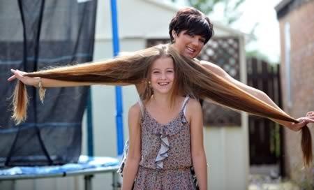Десять человек с самыми длинными в мире волосами