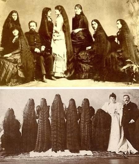 женщины с самыми длинными волосами