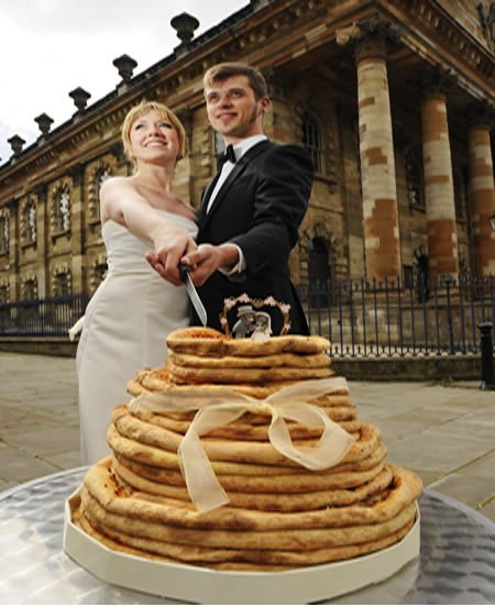 12 Прикольных альтернатив традиционному свадебному торту