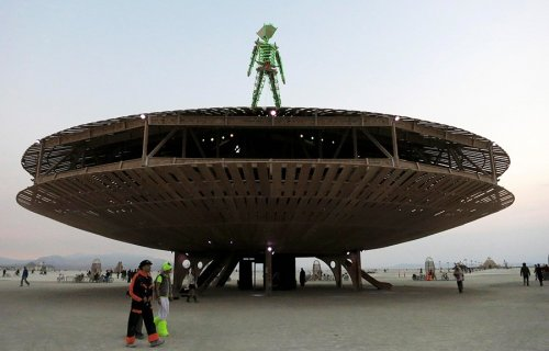 Фестиваль Burning Man 2013 (30 фото)