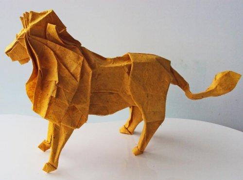 Восхитительные работы художника оригами Мэттью Жорже (17 фото)