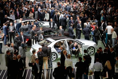 Во Франкфурте открылся 65-ый Международный автосалон (18 фото)