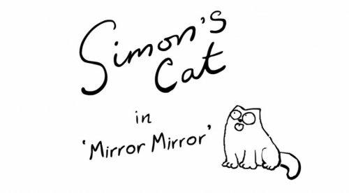 Кот Саймона и зеркало