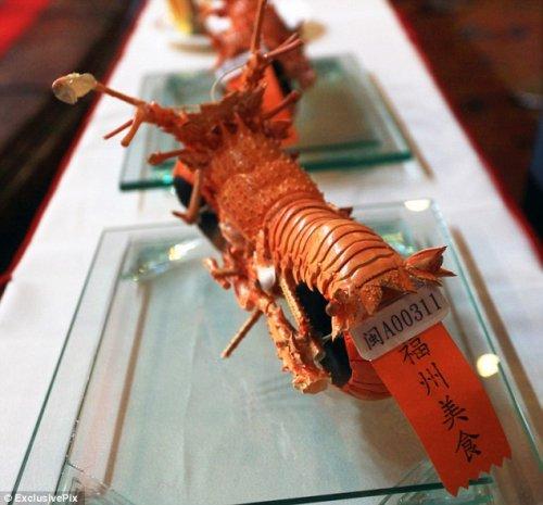 Мотолобстеры от тайваньского повара Huang Mingbo (5 фото)