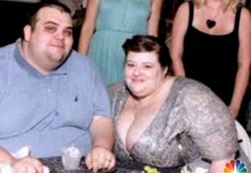 Супружеская пара похудела на два с лишним центнера (17 фото)