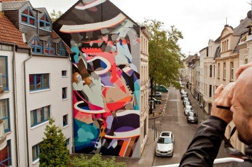 Фестиваль стрит-арта в Кёльне (33 фото)