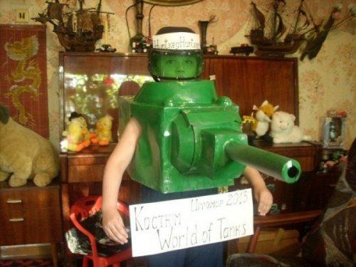 Участники конкурса костюмов World of Tanks (26 фото)