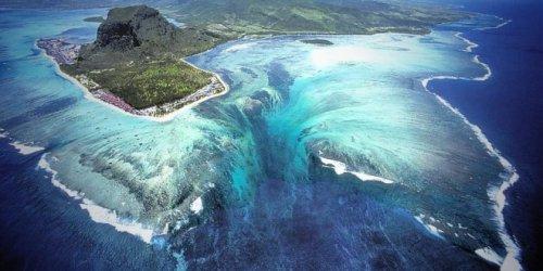 Уникальная природная иллюзия полуострова Леморн Брабант (4 фото)
