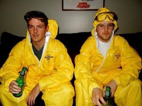 Забавные и необычные парные костюмы на Хэллоуин (23 фото)