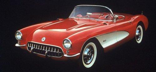 60-летний юбилей Chevrolet Corvette (23 фото)