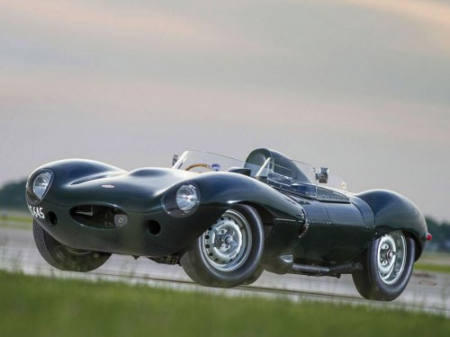 1955 Jaguar D-Type за 4 млн долларов (3 фото)