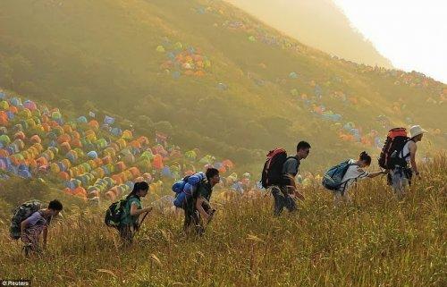 Международный фестиваль кемпинга в Китае (5 фото)