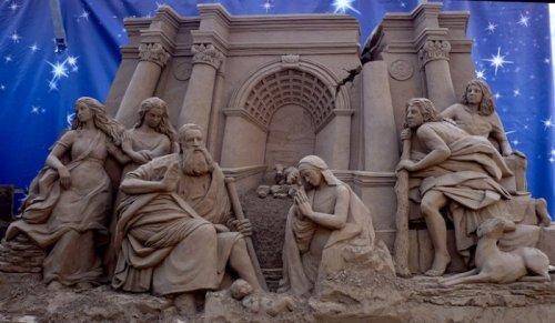 Песочные фантазии Сюзанны Рюселер (15 фото)
