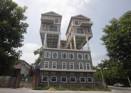10 Поразительных конструкций, возведённых на крыше