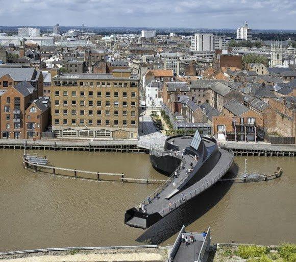10 Великолепных разводных мостов изоражения