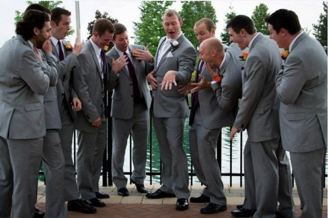 постановочные свадебные фото