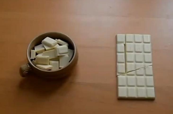 Как сделать шоколад бесконечным