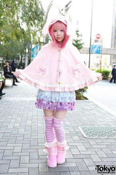 Токийские модницы (14 фото)