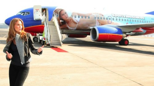 Авиалайнеры с рисунками (30 фото)