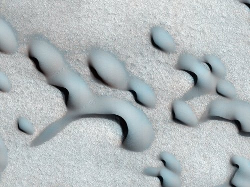 Захватывающие ландшафты Марса (23 фото)