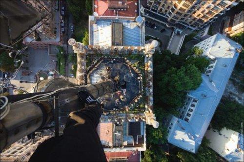 Экстремальная высота в фотографиях (28 шт)