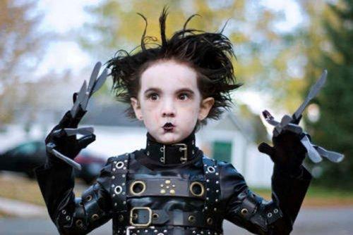 Детские костюмы на Хэллоуин (31 фото)