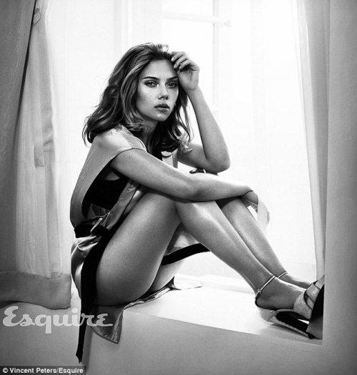 Скарлетт Йоханссон – самая сексуальная женщина в мире по версии Esquire (7 фото)