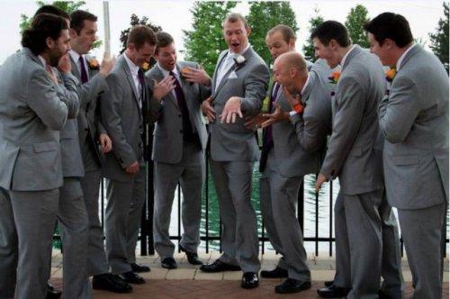 Забавные свадебные снимки (21 фото)