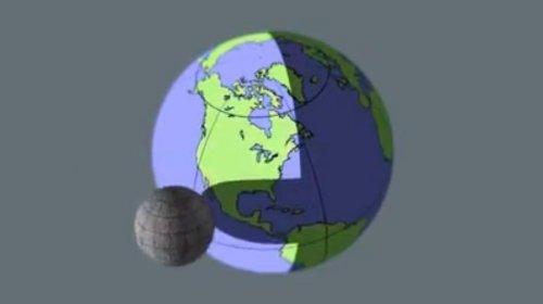 Если бы Луна находилась от Земли на том же расстоянии, что и МКС