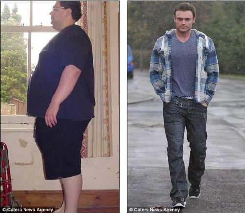 Британец похудел за 18 месяцев на 114 кг (7 фото)